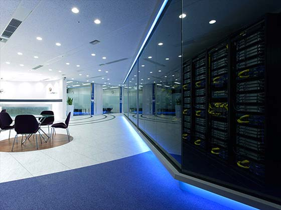 Server Room Design : Okamura s designed workplace showcase global knowledge