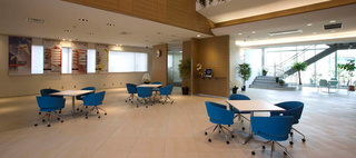 COSMO SYSTEM, inc / Okamura's Designed Workplace Showcase