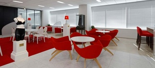 Triumph International (Japan) Ltd. / Okamura's Designed Workplace Showcase