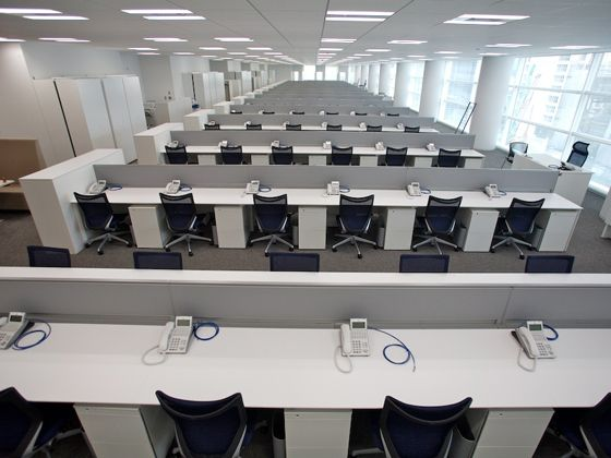 Tokyo Electron Device LTD./【Office area】Office area based on a universal layout