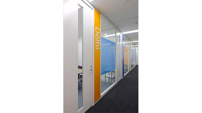HCL JAPAN LTD./【Meeting area】A meeting room named for a city in India.
