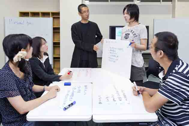 The University of Tokushima/【Presentations】Mini-presentations within a group