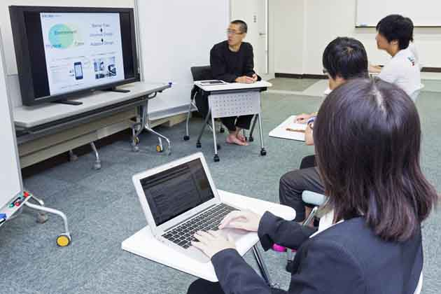 The University of Tokushima/【ICT lecture】Lecture using a large display