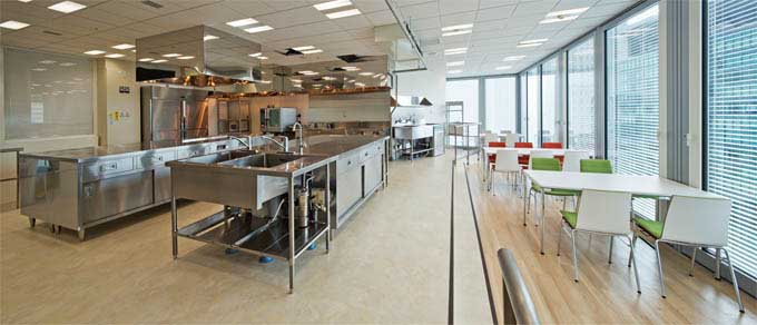 Nippon Meat Packers, Inc./【Test kitchen】A test kitchen for cooking the company's products