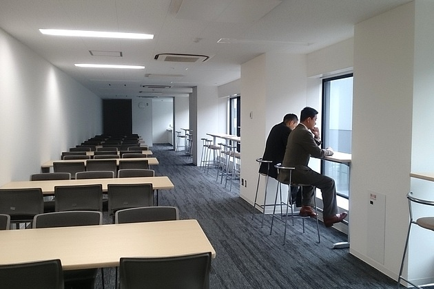 Nagahama/【Working space】This working space is in the back office area.