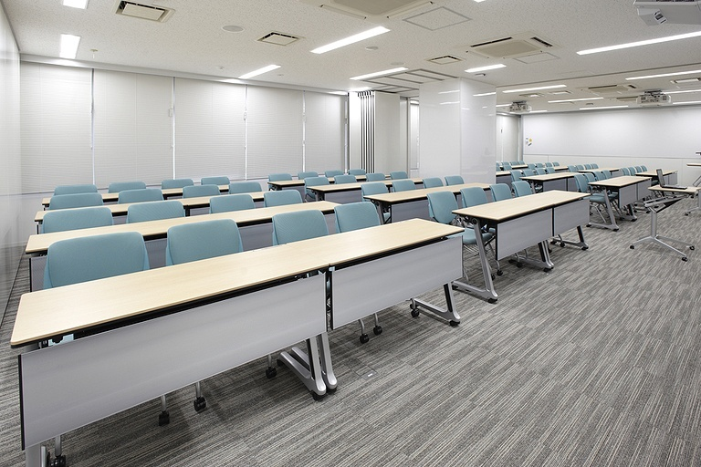 Taiyo life insurance company okamura 39 s designed for Training room design layout